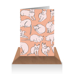 Cats Gift Card