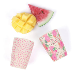 4 Pack Tumblers - In Bloom & Pink Spot