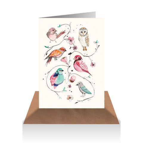 Birds Of The Wild Gift Card