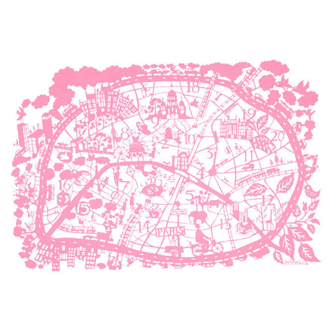 Map - Paris