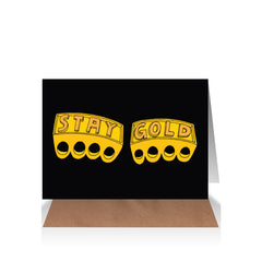 Stay Gold Gift Card