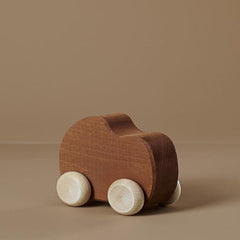 Wooden Toy Car - Clay