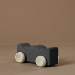 Wooden Toy Car - Coal