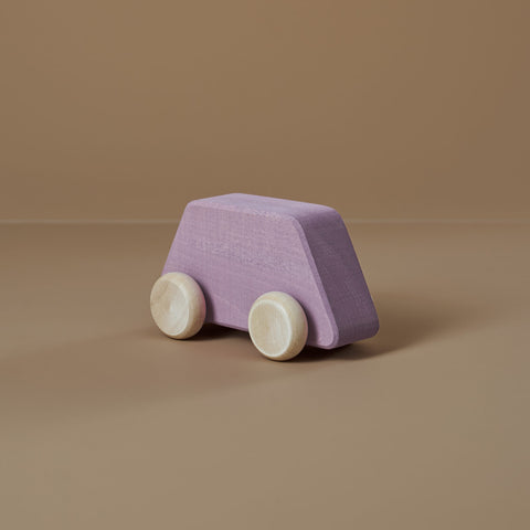 Wooden Toy Car - Lilac