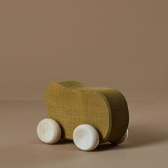 Wooden Toy Car - Olive