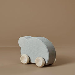 Wooden Toy Car - Pearl