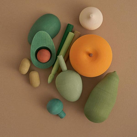Wooden Veggies Vol 2