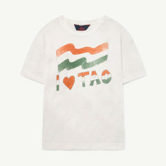Rooster Kids T-shirt - Flag