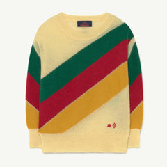 Stripes Bull Kids Sweater - Hat