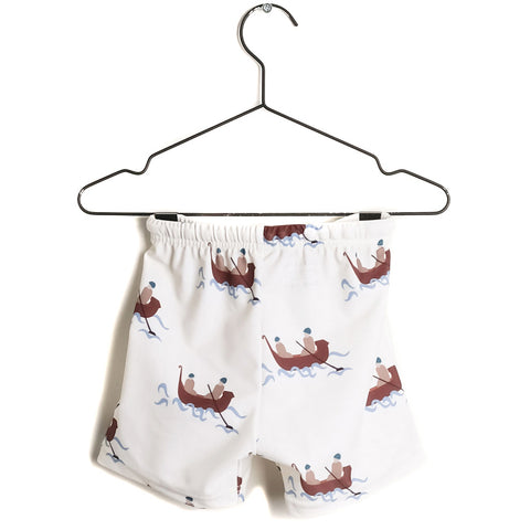 Carlos Swim Shorts - Boats & Roads