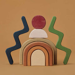 Wooden Building Blocks - Shapes