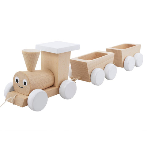 Wooden Pull Along Train - Theodroe