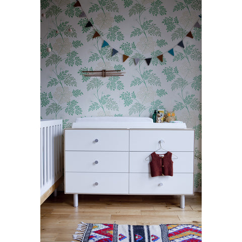 Merlin 6 Drawer Dresser - Classic