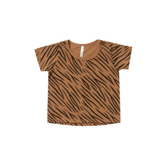 Basic Tee - Tiger Stripe