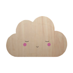 Wooden Silhouette Light - Cloud