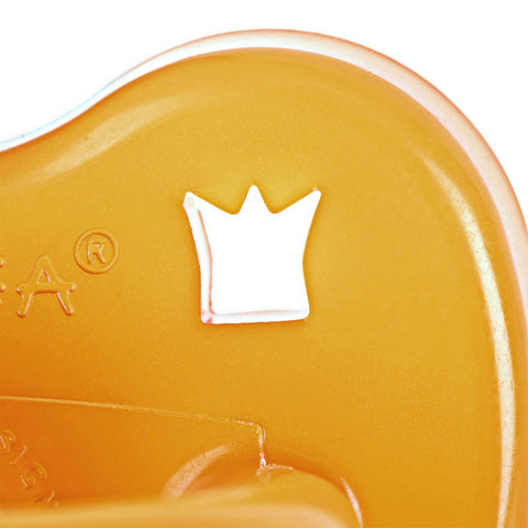 Natural Rubber Pacifier Round Teat - Crown