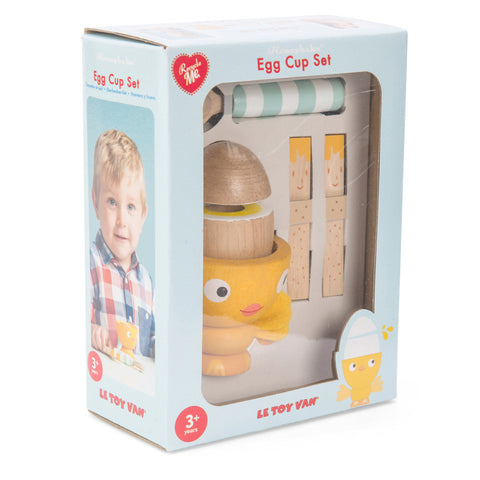 Honeybake Wooden Egg Cut Set - Chicky Chick