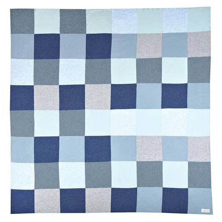 Frankie Cotton Double Sided Patchwork Blanket