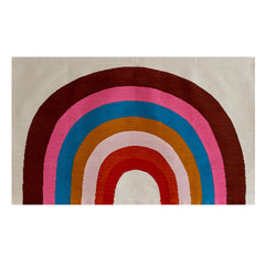 Wool Rug Large - Rainbow