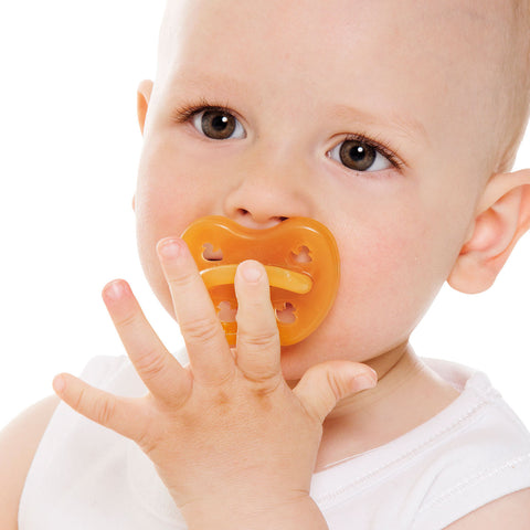 Natural Rubber Pacifier Anatomical Teat - Duck