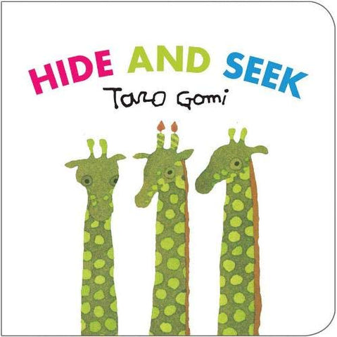 Hide And Seek, Taro Gomi