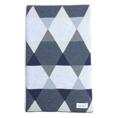 Isaac Cotton Double Sided Geometric Blanket