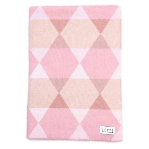 Isaac Merino Wool Double Sided Geometric Pattern Blanket