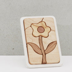 Wooden Mosaic Puzzle - Flower