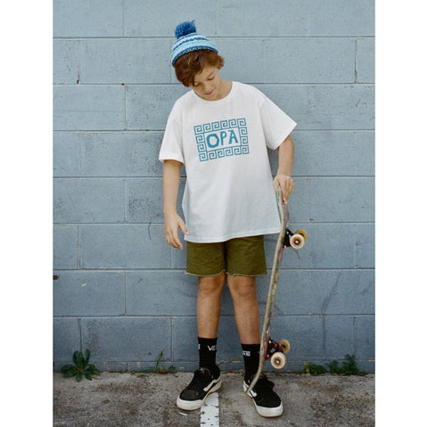 Kids Greece Tee - Opa!