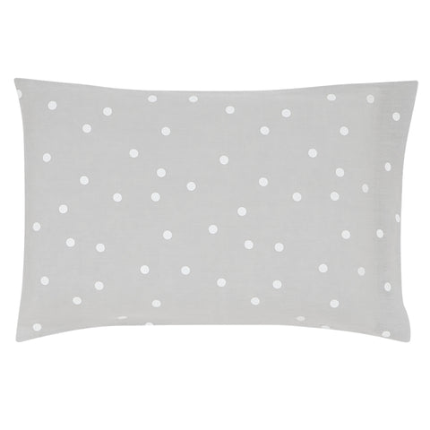 Pillowcase - Linen White Spot