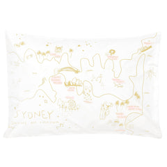 Pillowcase - Sydney Map