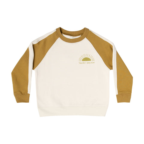 You're Golden Raglan Sweatshirt