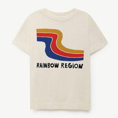 Kids Byron Bay Tee - Rainbow Region