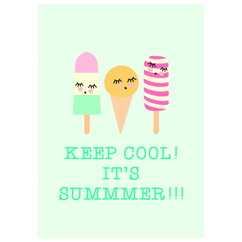A3 Poster - Keep Cool