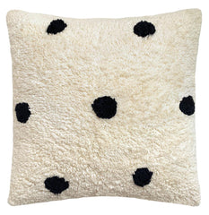 Spot Shag Cushion