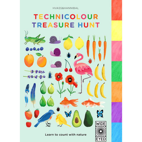 The Technicolour Treasure Hunt
