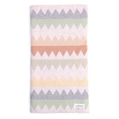 Teeth Cotton Double Sided Jagged Blanket