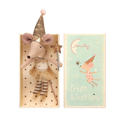 Mouse In Box - Tooth Fairy Girl