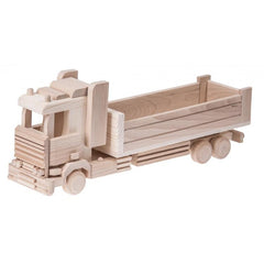 Large Wooden Truck With Tray - Wesley
