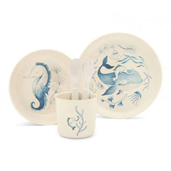 Bamboo Dinner Set - Under The Sea