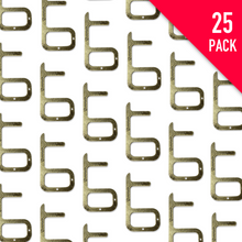 Load image into Gallery viewer, 25x ZeroHook B (Brass) Multi-pack