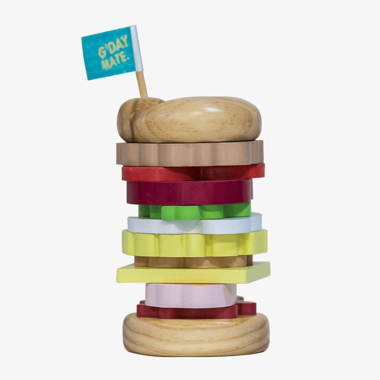 Iconic Toy - Australian Stacking Burger