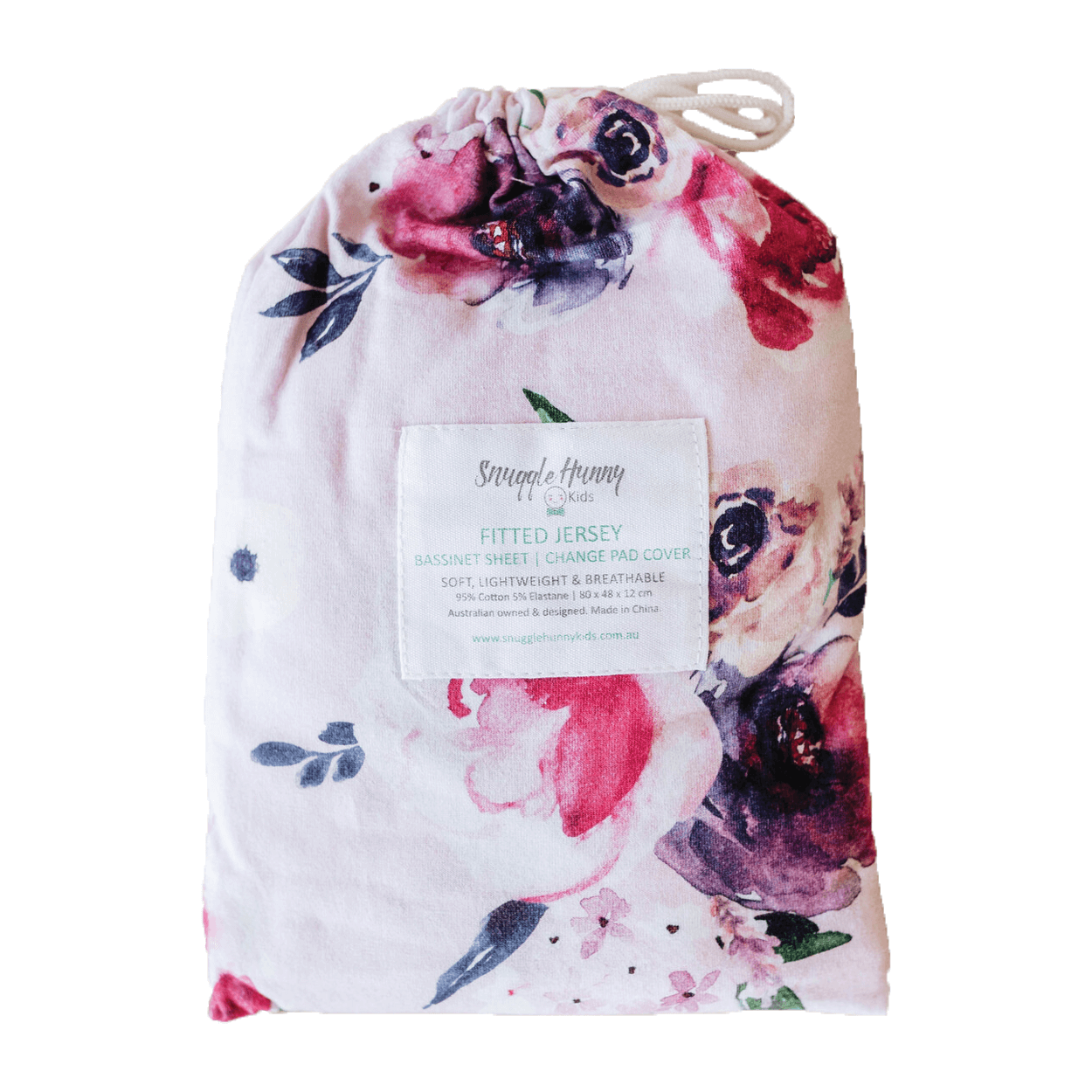 Fitted Sheet - Floral Kiss