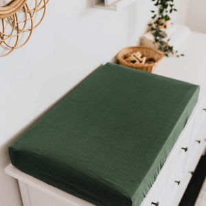 Fitted Sheet - Olive