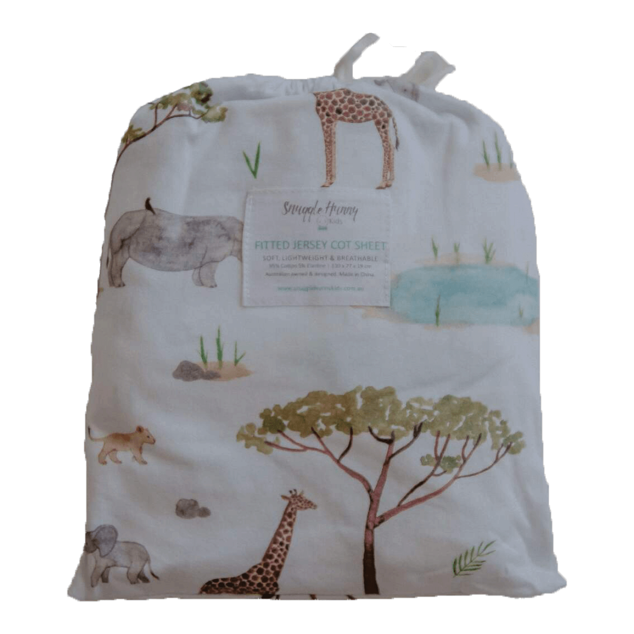 Fitted Sheet - Safari
