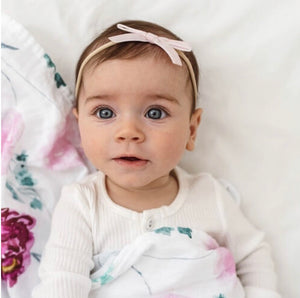 Open image in slideshow, Velvet Baby Headbands
