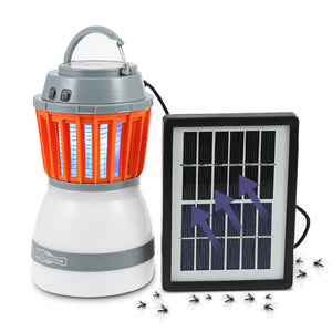 2-in-1 Portable LED Camping Solar light Mosquito