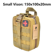 Load image into Gallery viewer, TACTIFANS First Aid Pouch Patch Bag Molle Hook and Loop Amphibious Tactical Medical kit EMT Emergency EDC Rip-Away Survival IFAK