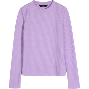 ELFSACK Purple Solid Minimalist Knit Casual Pullover Sweater Women 2020 Spring Black Pure Long Sleeve Korean Ladies Basic Top