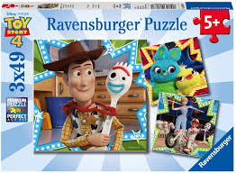 Ravensburger Toy Story 4 - In it together 3x49 pcs
